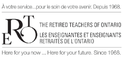 retired teachers of ontario